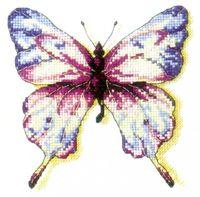 "Вышивка крестом ""Эффект бабочки"" (130х135 мм)"