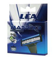 Кассета для станка LEA Matrix3 Titanium (4 шт)