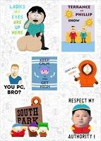 "Набор виниловых наклеек №593 ""South Park"""