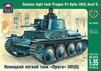 """Немецкий лёгкий танк """"Прага"""" 38t(G) (масштаб: 1/35)"""