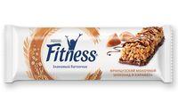 """Батончик злаковый """"Nestle. Fitness"""" (23,5 г; молочный шоколад и карамель)"""