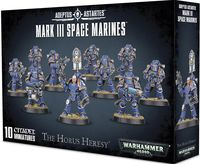 Warhammer 40.000. Space Marines. Mark III (01-05)