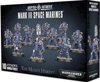 Warhammer 40.000. Space Marines. Mark III (01-05)