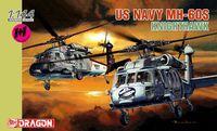 "Набор вертолетов ""U.S. Navy MH-60S Knighthawk"" (масштаб: 1/144)"