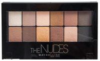 """Палетка теней для век """"The Nudes"""" (12 оттенков)"""