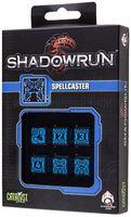 "Набор кубиков ""Shadowrun Spellcaster"" (6 шт.; синий)"