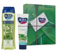 """Подарочный набор """"Herbal Care Green"""" (крем, гель для душа)"""