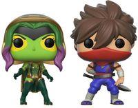 "Фигурка ""Capcom vs Marvel. Gamora vs Strider"""