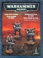 """Малый набор миниатюр """"Warhammer 40.000. Chaos Space Marines"""" (35-31)"""