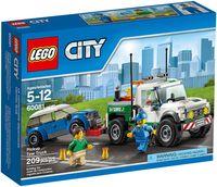 """LEGO City """"Буксировщик автомобилей"""""""