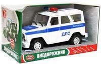 """Модель машины """"Джип. Полиция"""""""