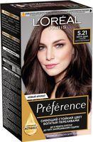 "Краска для волос ""Preference"" (тон: 5.21, глубокий светло-каштановый)"