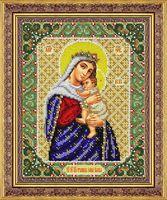 """Вышивка бисером """"Пресвятая Богородица Отчаянных. Единая надежда"""""""