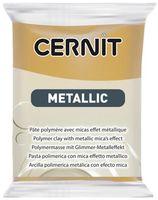 """Глина полимерная """"CERNIT Metallic"""" (темное золото; 56 г)"""