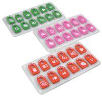"""Ярлычки для проводов MNM """"Memo cables"""" (цвет: розовый)"""