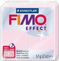 """Глина полимерная """"FIMO Effect"""" (розовый кварц; 57 г)"""