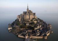 """Постер """"Mont Saint-Michel"""" (арт. 264)"""