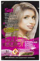 """Крем-краска для волос """"Effect Сolor"""" (тон: 9.1, пепельный блондин)"""