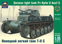 Немецкий лёгкий танк Т-II C (масштаб: 1/35)
