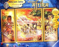"""Картина по номерам """"Африка"""" (500х800 мм)"""