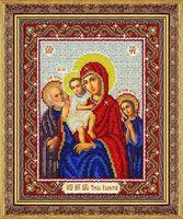 """Вышивка бисером """"Пресвятая Богородица Трех радостей"""""""