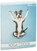 """Тетрадь полуобщая в клетку """"Yoga Pets"""" (48 листов; в ассортименте)"""