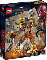 """LEGO Super Heroes """"Бой с Расплавленным Человеком"""""""