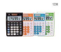 Калькулятор 12 разрядов (145 х 105 мм; цветной корпус)