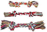 """Игрушка для собаки """"Веревка с двумя узлами"""" (26 см)"""