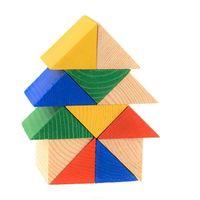 """Кубики """"Треугольники"""" (12 шт)"""