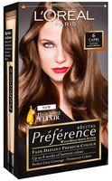 """Краска для волос """"Preference"""" (тон: 6, Мадрид темно-русый)"""
