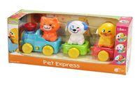 """Музыкальная игрушка """"Экспресс с домашними животными"""""""