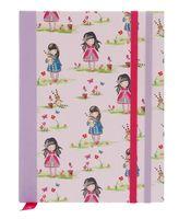 "Блокнот в линейку ""Ladybird Pastel Print"" (167х128 мм)"
