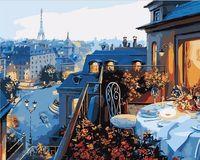 """Картина по номерам """"Ужин в Париже"""" (500х650 мм)"""