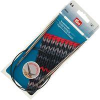 Спицы круговые для вязания (латунь; 5,5 мм; 60 см)