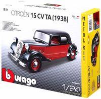 "Модель машины ""Bburago. Kit. Citroen 15 CV TA"" (масштаб: 1/24)"