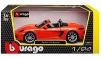 """Модель машины """"Bburago. Porsche 718 Boxster"""" (масштаб: 1/24)"""