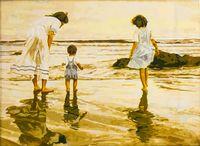 "Картина по номерам ""У моря"" (400x500 мм; арт. MG006)"
