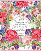 """Тетрадь в клетку """"Beauty Flowers"""" (40 листов)"""