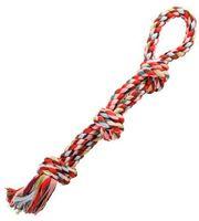 """Игрушка для собак """"Веревка с тремя узлами"""" (60 см)"""