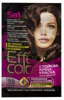 """Крем-краска для волос """"Effect Сolor"""" (тон: 3.0, темный каштан)"""
