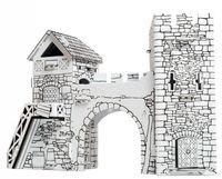 """Игровой набор из картона """"Старые ворота"""" (арт. 244-2)"""