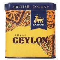 """Чай черный листовой """"Richard. British Colony Royal Ceylon"""" (50 г; в банке)"""