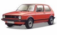 """Модель машины """"Bburago. Volkswagen Golf Mk1 GTI"""" (масштаб: 1/24)"""