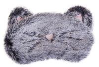 """Маска для сна """"Grey cat"""""""