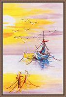 "Вышивка крестом ""Родная гавань"" (240х360 мм; арт. РК-014В)"