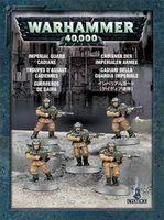 """Малый набор миниатюр """"Warhammer 40.000. Astra Militarum Cadians"""" (35-33)"""