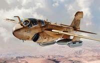 """Палубный самолет """"EA-6 Prowler"""" (масштаб: 1/48)"""