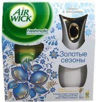 """Автоматический аэрозольный освежитель воздуха Air Wick Freshmatic """"Лимон и Женьшень"""" (250 мл)"""