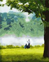 "Картина по номерам ""На рыбалке"" (400x500 мм)"
